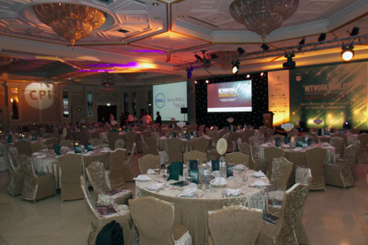 The Network World Middle East Awards 2013 at the Habtoor Grande Resort, Dubai, UAE.