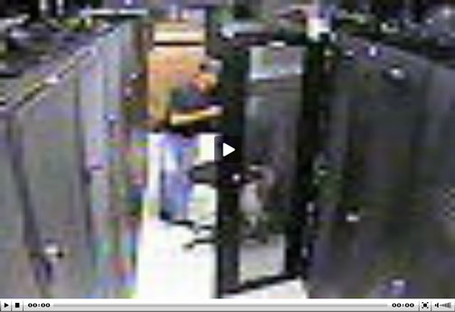Server room accident