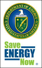 Department of Energy Save Energy Now logo