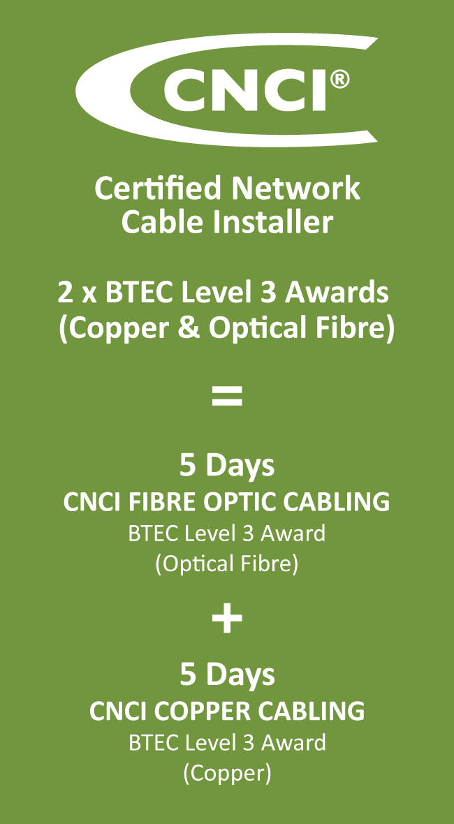Cnci Fibre Optic Cabling Cnet Training
